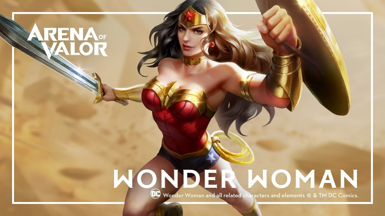 Arena of Valor - Wonder Woman
