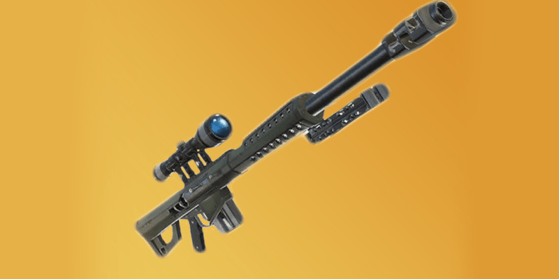 Fortnite S New Heavy Sniper Rifle Can Literally One Shot Everything