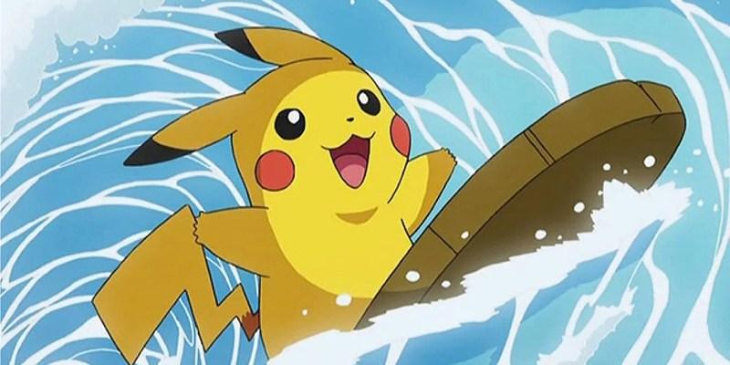 pokemon let's go pikachu surfing pikachu