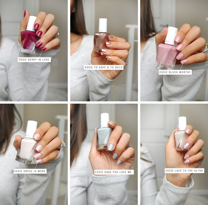Essie Gel Couture Bridal 2017