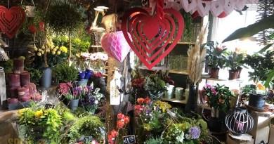 valentijnsactie bloemenshop