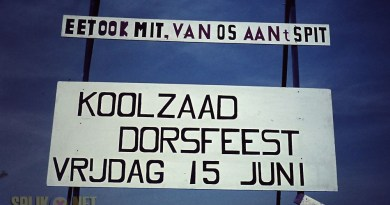 Koolzaad dorsfeest in 1973