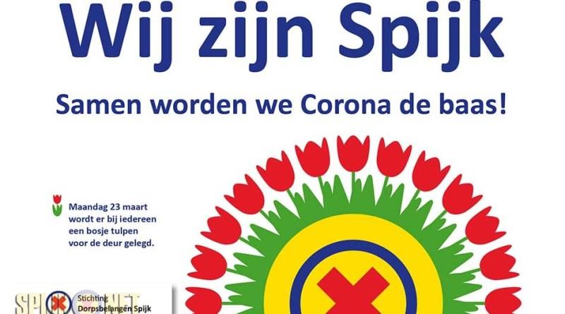 dorpsbelangen spijk coronavirus