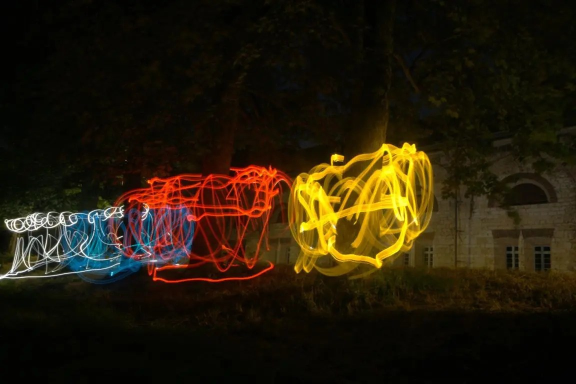 Lightpainting-Led-Lenser-M7