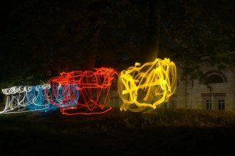 Lightpainting-Led-Lenser-M7