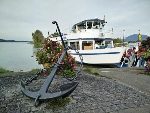 MS Allgäu auf dem Forggensee