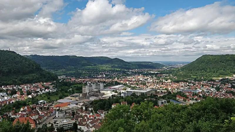 Ausblick am Helfenstein