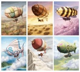 Airships of Oberon