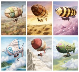 Airships of Oberon