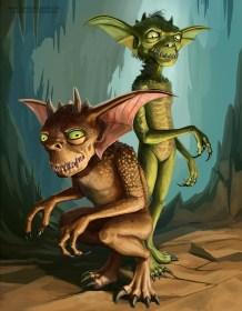 two gremlins