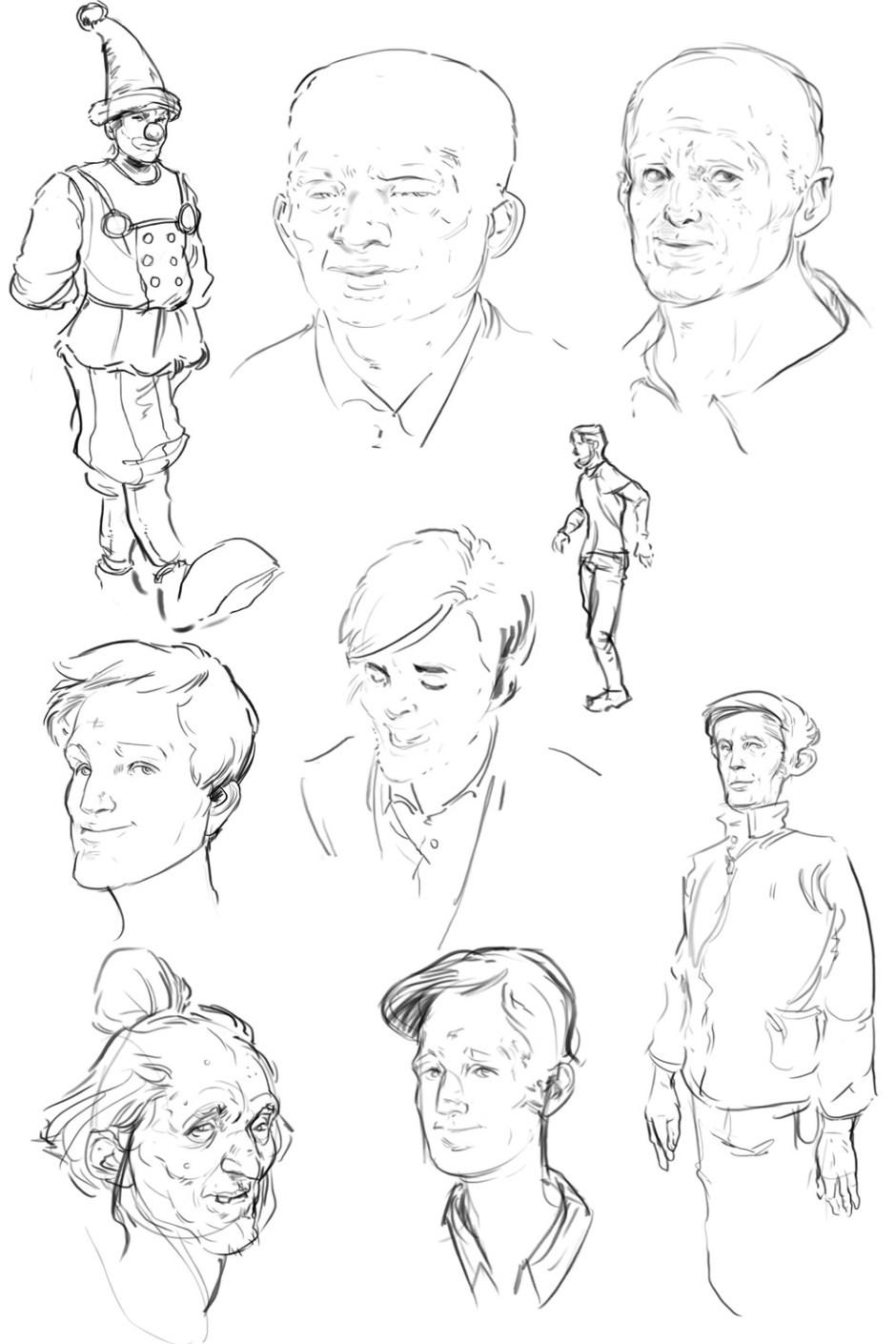 2015 May Sketches