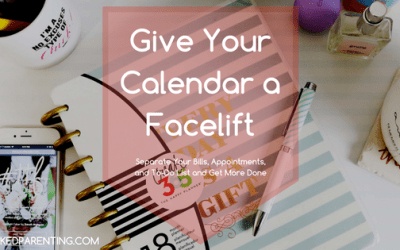 Give Your Calendar a Facelift