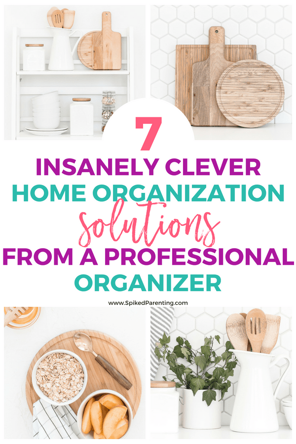 7 Insanely Clever Home Organization Solutions From a Professional Organizer