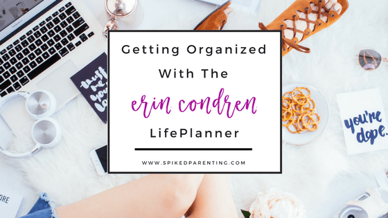 Getting Organized with the Erin Condren Planner