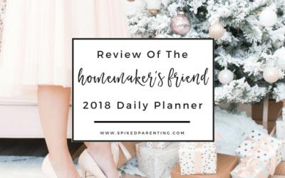 2018 Homemaker's Friend Daily Planner Review
