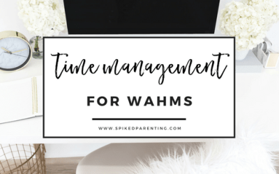 20 Time Management Tips For Work At Home Moms