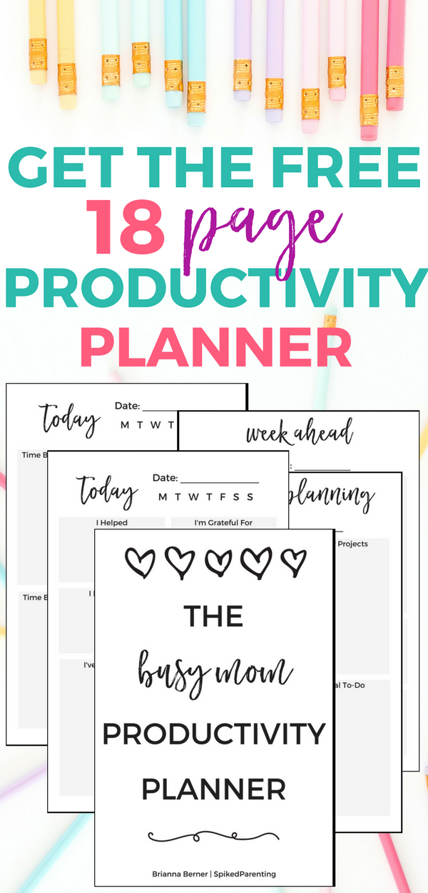 The Boss Mom Productivity Planner | SpikedParenting