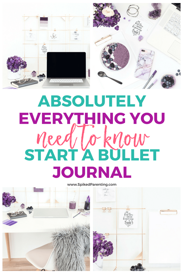 Absolutely Everything You Need to Know to Start a Bullet Journal | SpikedParenting