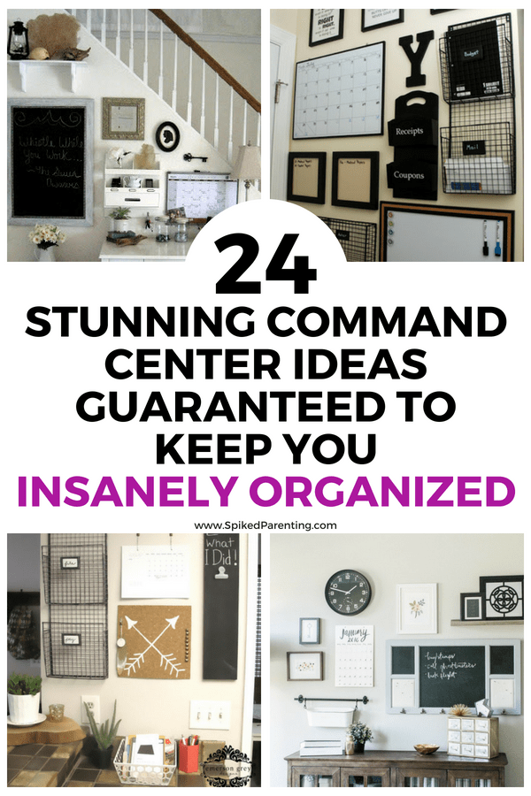 24 Stunning Command Center Ideas Guaranteed to Keep You Insanely Organized