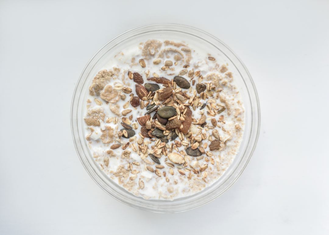 Cinnamon Sugar Overnight Oats
