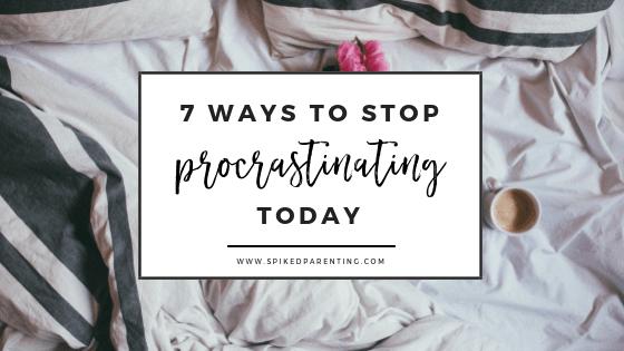 Procrastination: 7 Simple Tips to Stop Procrastinating in 2021
