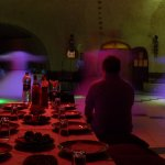 Whirling dervishes in Turkey