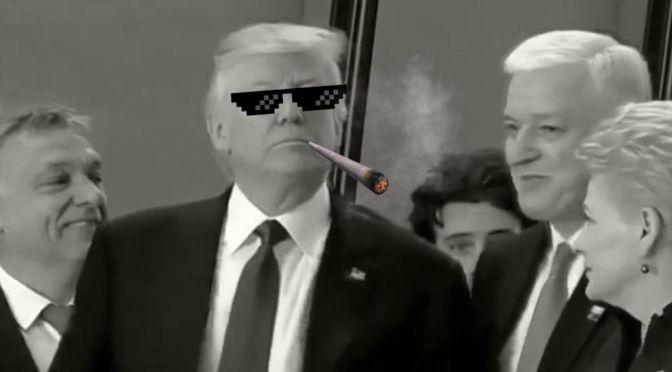 "Trump ""Thug Life"" video"