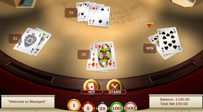 BlackJack – online casino game