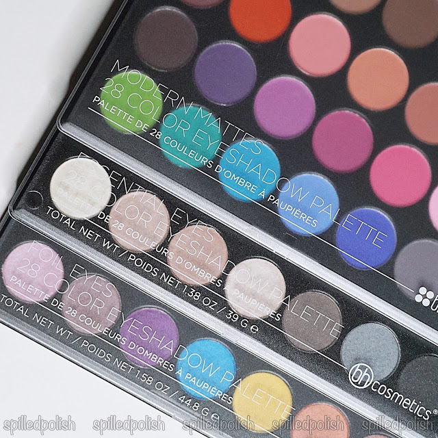 BH Cosmetics - Eyeshadow Palette Review