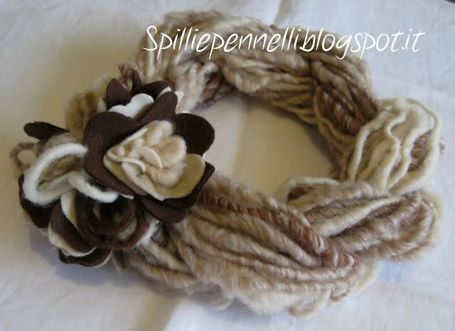 Scaldacollo in lana per la mia mamma