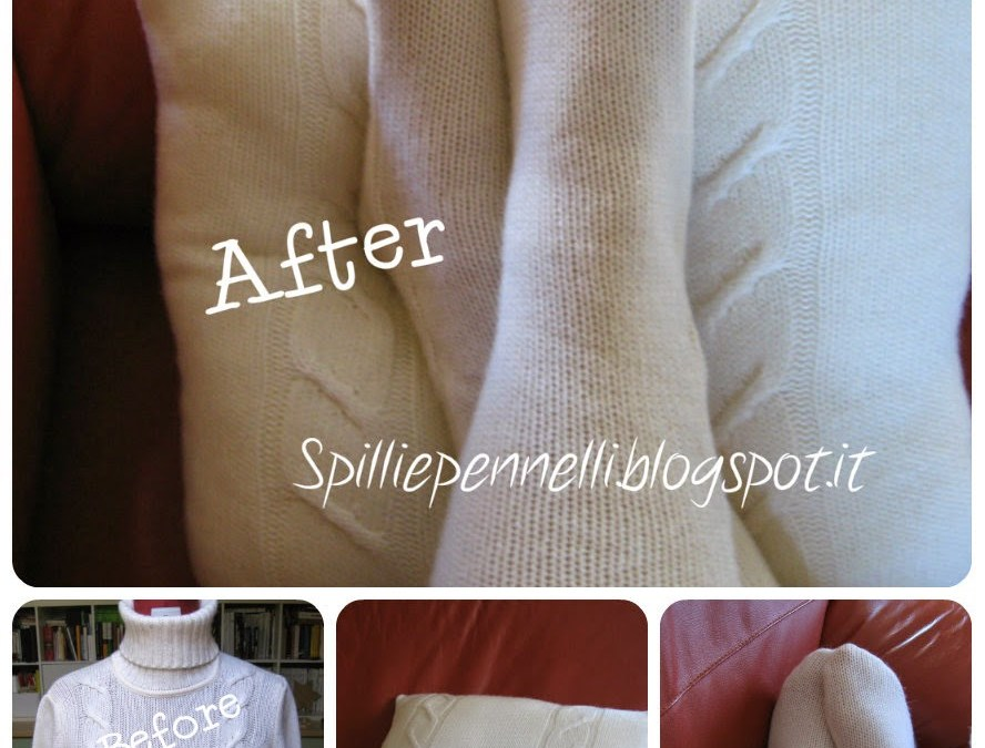 Riuso del vecchio maglione