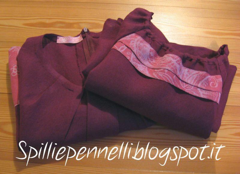 Lino…per due: abiti coordinati per mamma e bimba