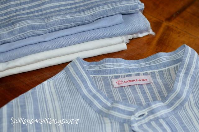 Anche l'uomo vuole la sua parte…ecco la camicia in lino per lui