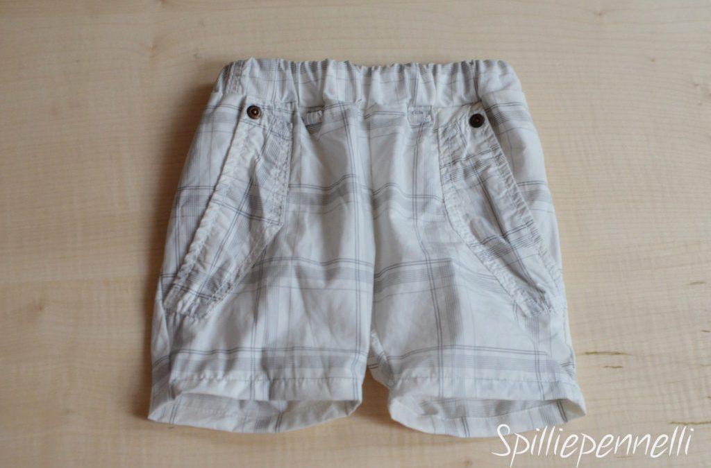 Refashion: dai pantaloni rovinati del papà a quelli per il baby
