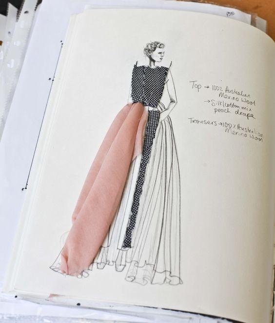 Stilista, fashion designer, sarta