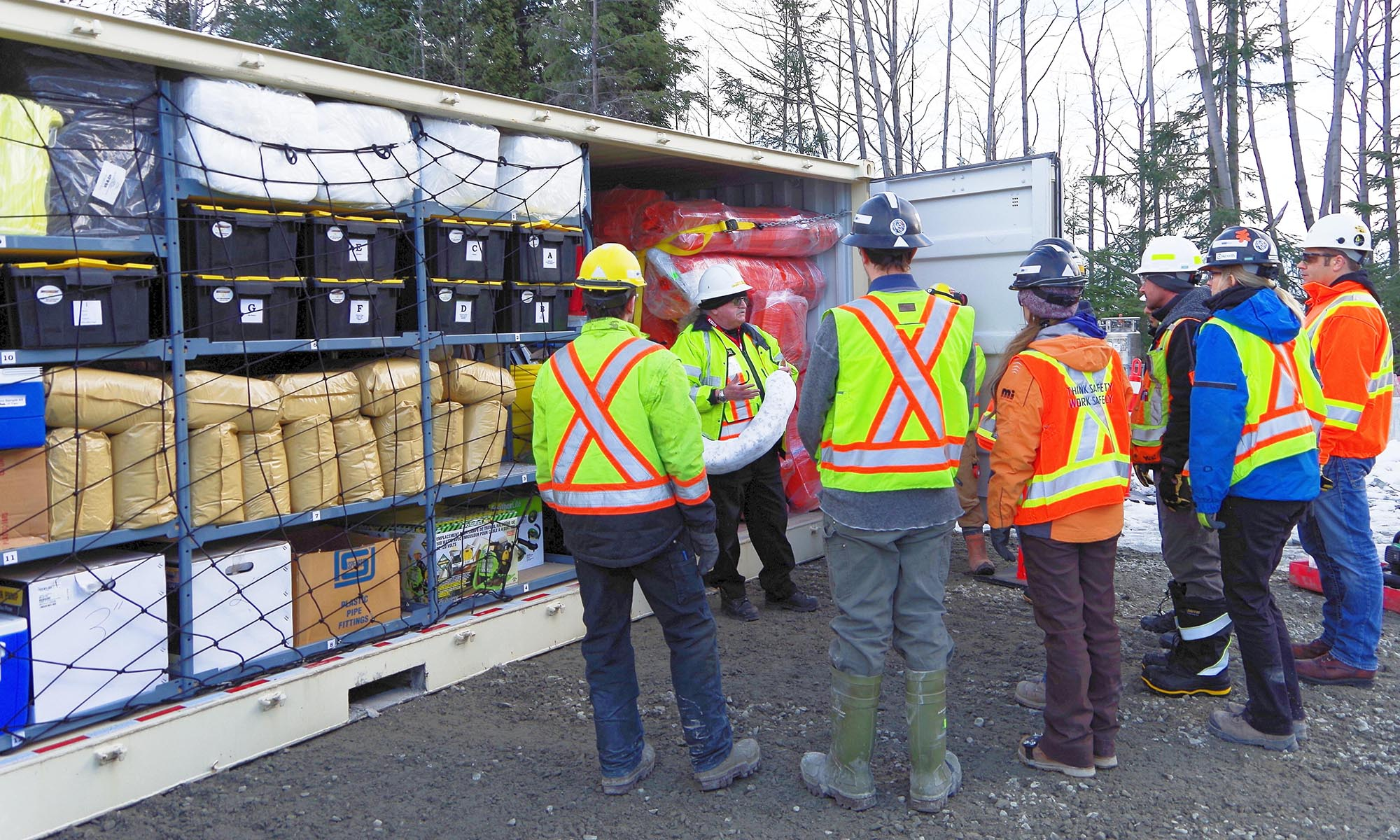 Spill Response Centre - SRC100kMax, Spill Response Centre – SRC100kMax, Spill Response Trailers...