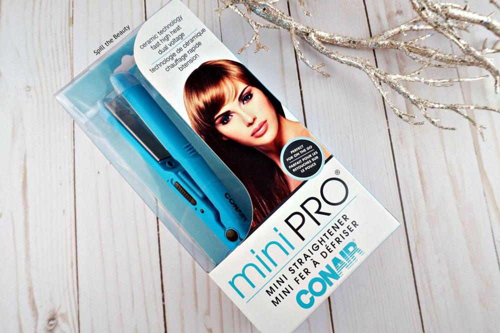 conair mini pro hair straightener