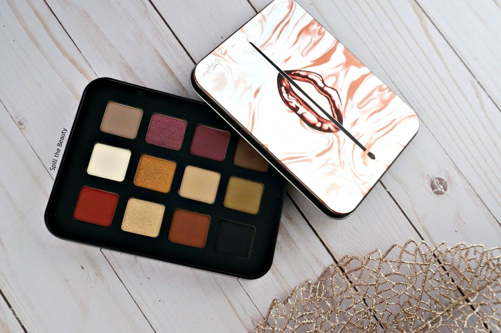 make up for ever lustrous shaodw palette