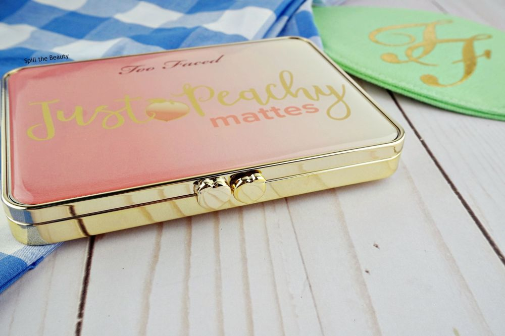 too faced just peachy mattes palette challenge week