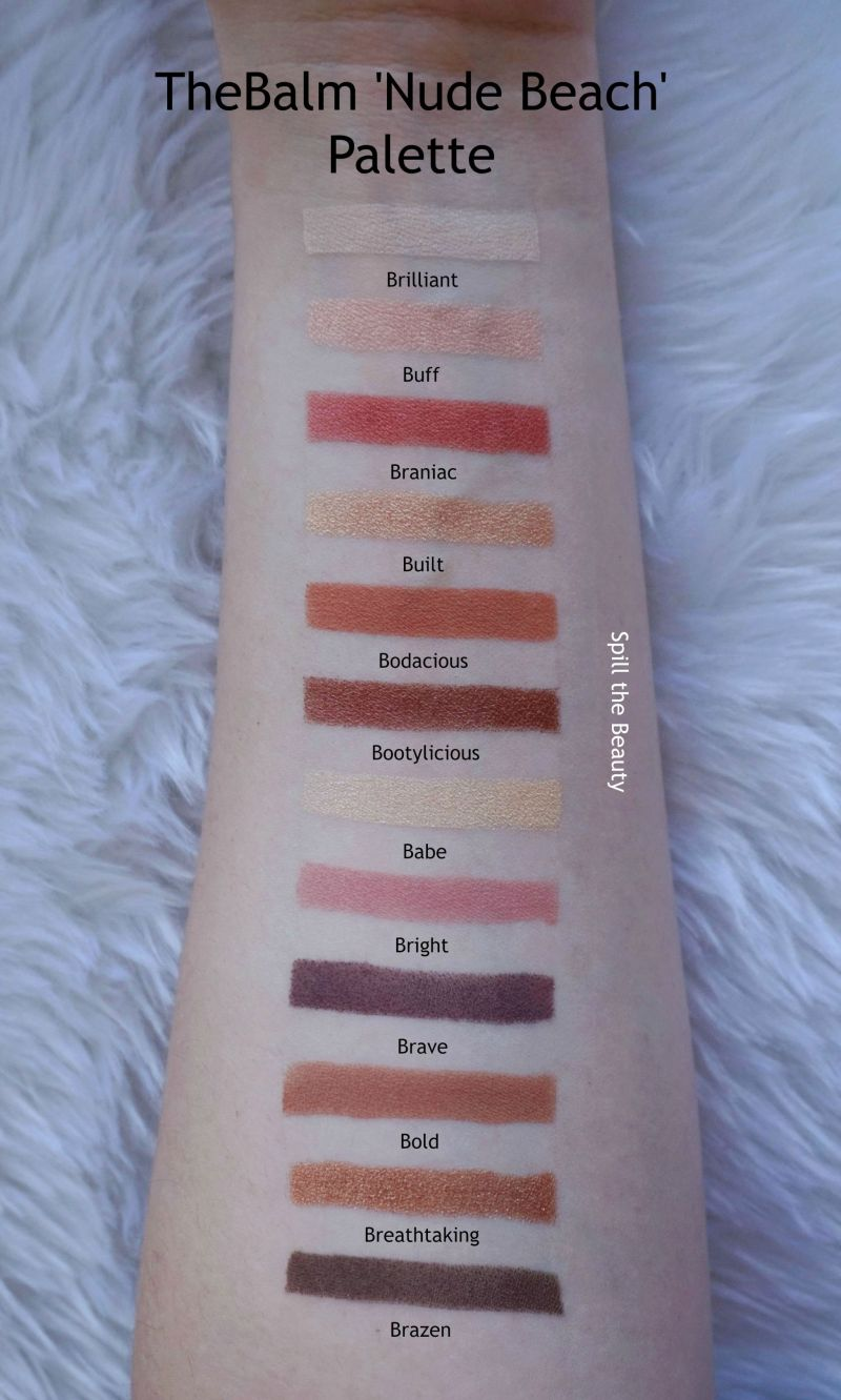 the original Nude 'Tude Palette, the Nude Dude Palette, and now the Nude Beach Palette.