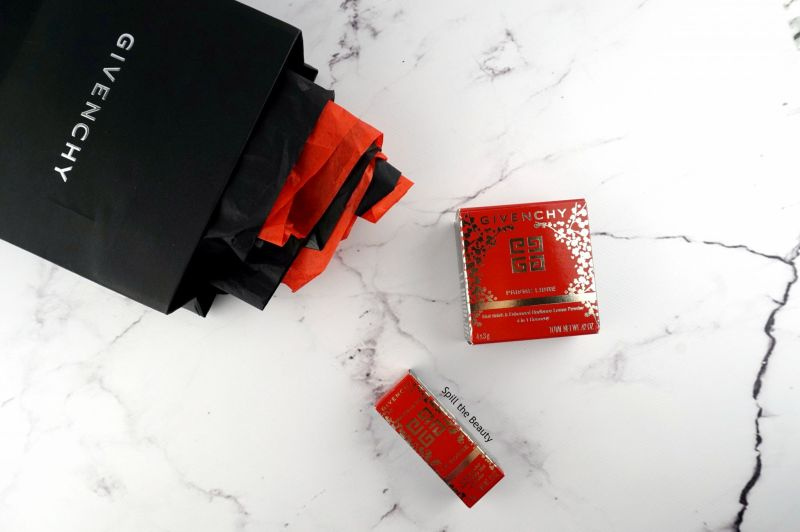 givenchy lunar new year 2018 face powder lipstick rouge egerie 305 review swatches