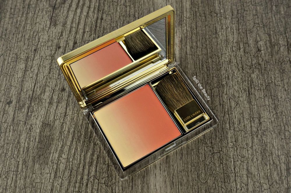 Estée Lauder Pure Color Blush in 'Witty Peach' – Review, Swatches, and Look