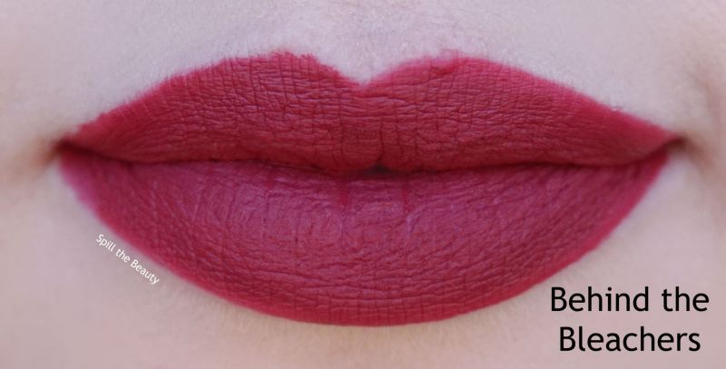 wet n wild 2018 megalast liquid catsuit liquid lipstick shades review swatches behind the bleachers