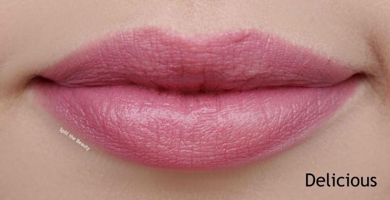 lip swatch covergirl 323 delicious comparison dupe