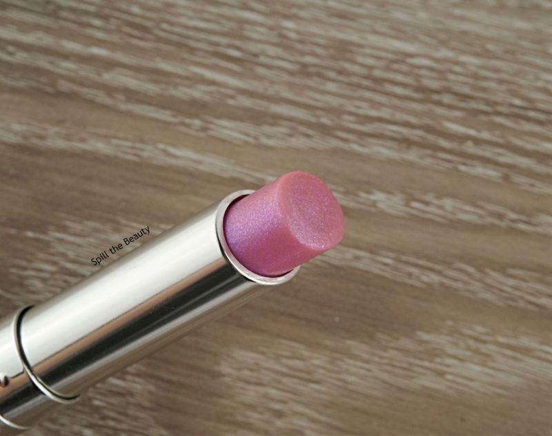 dior lip glow holo purple swatches comparison