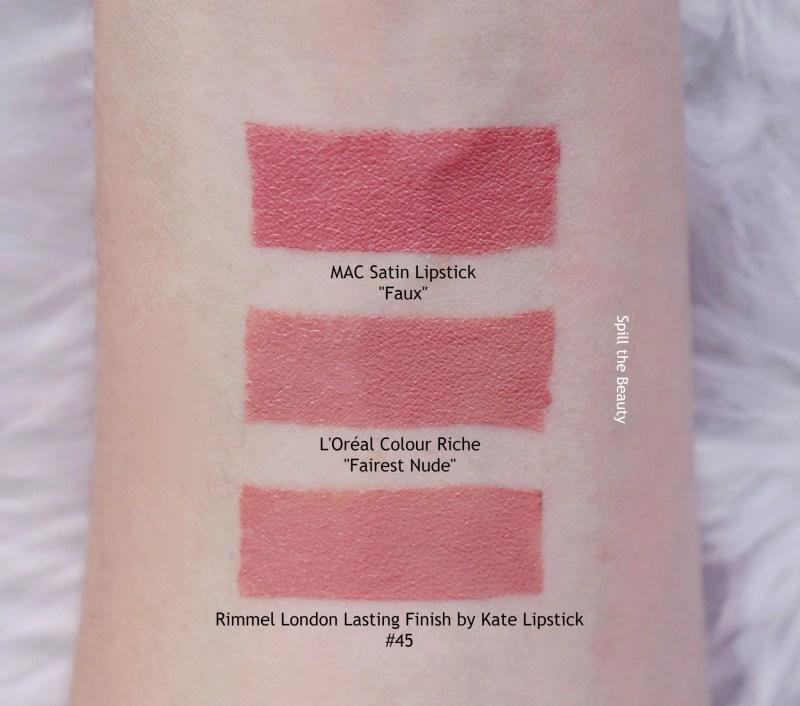 Loreal Paris Colour Riche Hydrating Lipstick Fairest Nude