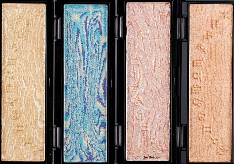 wet n wild zodiac collection highlighters review swatches