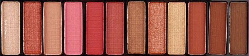 rimmel london crimson edition palette review swatches look