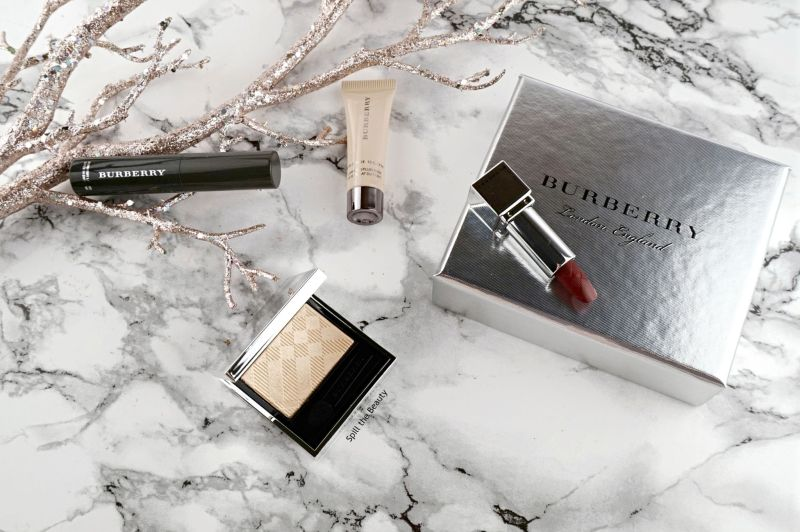 mini gifts burberry festive beauty box