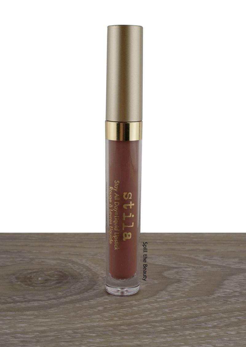 stila sheer splendore liquid lipstick swatches comparison dupe